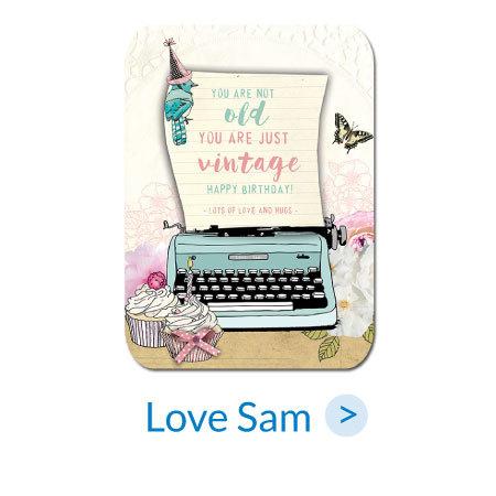 Ansichtkaarten | Love Sam
