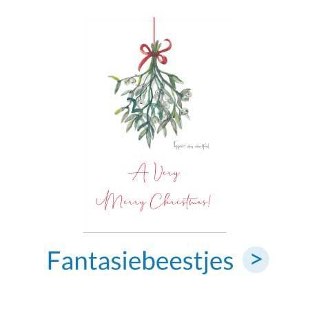 Kerstkaarten | Fantasiebeestjes