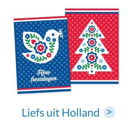 Kerstkaarten | Liefs uit Holland