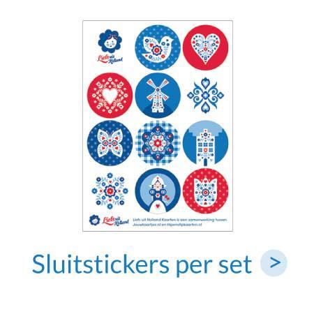 Stickers | Sluitstickers per stuk