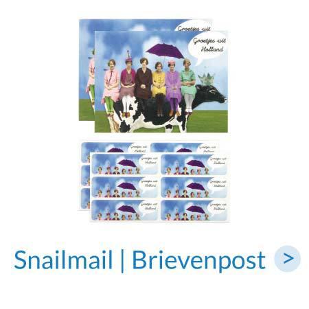 Papierwaren | Snailmail - Brievenpost