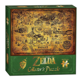 The Legend of Zelda Puzzle Hyrule Map (Nieuw)
