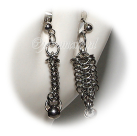 Insp. 141 Earrings in stainless steel