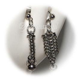 Insp. 141 Earrings in stainless steel