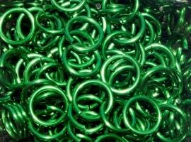 aluminium groen 1.6x8.5mm. (gezaagd)