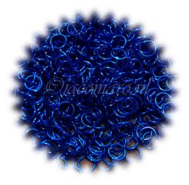 aluminium sapphire blue 0.8x4.2mm. (gezaagd)