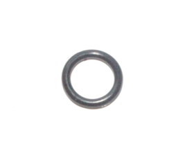 Rubber ring 2.0x10.0mm. (O.D. 14.0mm.) zwart 25st.