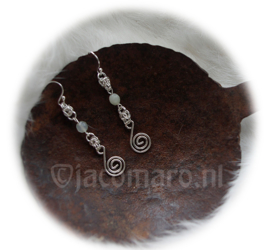 Insp.  137 Silver Earrings PURE