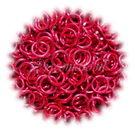 aluminium spicy coral 1.6x6.6mm. (gezaagd)