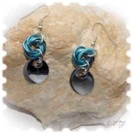 RTJ-068 Blue earrings
