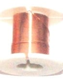 OND646  koperdraad 0.3mm.  light copper 2.45 mtr.