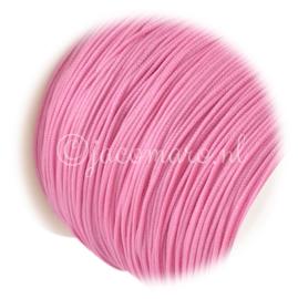 OND679 imitatie zijde koord 0.8mm. hot pink 10 mtr.