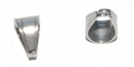 OND544 bail pendant 304 stainless steel 11x9mm.