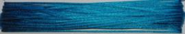 OND737 imitatie zijde koord/band 1.25mm. capri blauw 10 mtr.