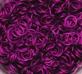 aluminium fuchsia 1.2x5.0mm. (machinaal)