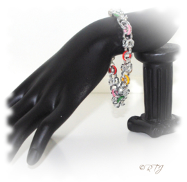 RTJ-097 Armband Ruby met rubber