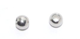 MK146 304 stainless steel rondelle kraal 6x4.5mm. per 10st.