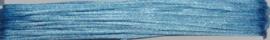 OND736 imitatie zijde koord/band 1.25mm. licht saffier blauw 10 mtr.