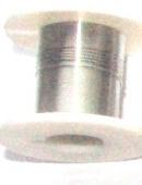 OND637  koperdraad 0.3mm.  silver 2.45 mtr.