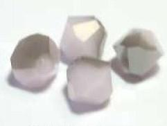 SWK037  swarovski tolletje 5301 rose alabaster satin 4mm. zakje 5 stuks