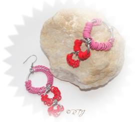 RTJ-075 Love earrings