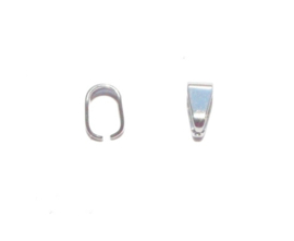OND631 bail pendant stainless steel 7x5x3.5mm. p.s.