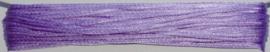 OND738 imitatie zijde koord/band 1.25mm. lila 10 mtr.