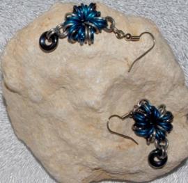 RTJ-062 oorhangers Blue Begin