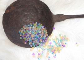 MM-mix01 magatamas drops 4mm. mix jellybean