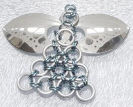Doe-het-zelf pakketje 60 ornament Engel(beginners en gevorderden) 1st.