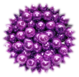 GP201 streng glasparel purple 8mm.