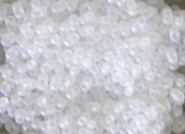 BBM-0131FR berry bead Matte Crystal AB 4.5x2.5mm.