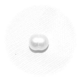 EK032 zoetwaterparel met groeiringen wit 6-7mm.  klasse A 5 stuks