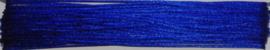 OND733 imitatie zijde koord/band 1.25mm. kobalt blauw10 mtr.