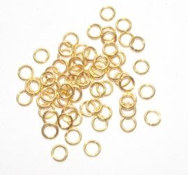 925 st. silverVermeil Gold 0.8x5.0mm. (gezaagd)
