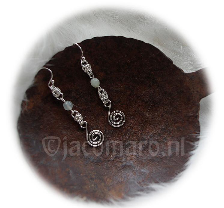 Insp.  137 Silver Earrings PURE