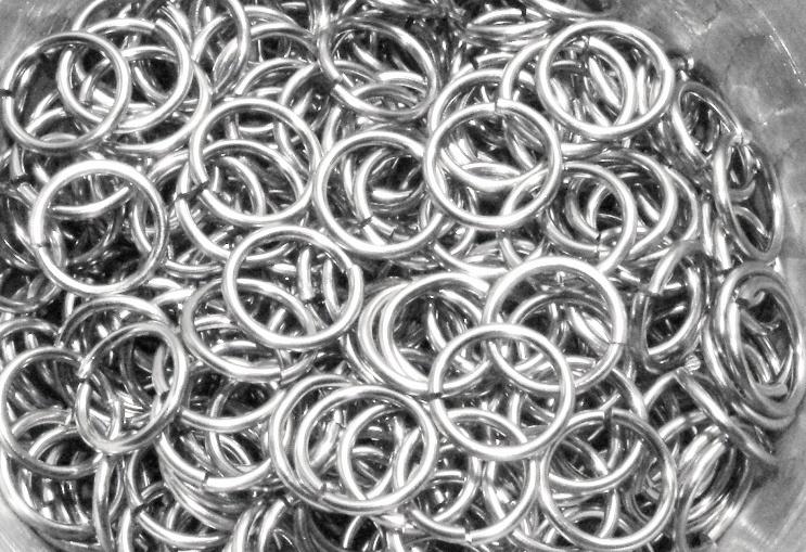 stainless steel 1.2x8.2mm. rond (gezaagd)
