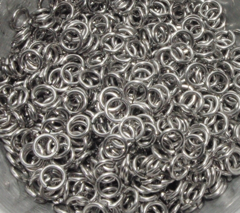 stainless steel  1.0x4.0mm. rond (gezaagd)