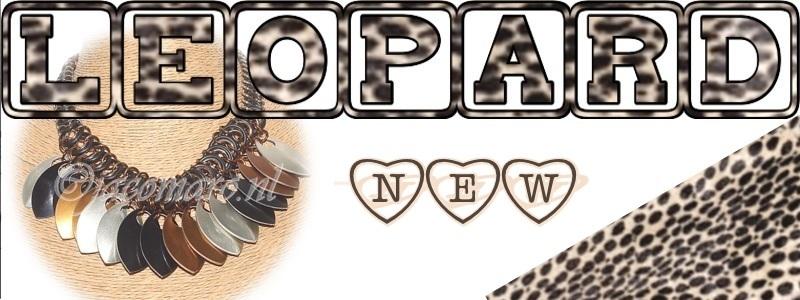 D.I.Y. Leopard collier met schalen