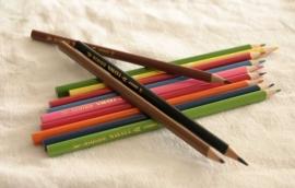 Dunne driehoek potloden