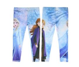 Disney Frozen 2 legging Sneeuwkoningin blauw
