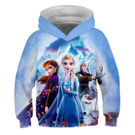 Frozen 2 Elsa en Anna hoodie/vest kinderen