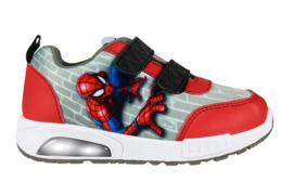 Marvel Spiderman schoenen rood met lichtjes