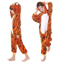 Onesie huispak tijger  + GRATIS hanger