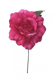 Spaanse flamenco roos fel roze
