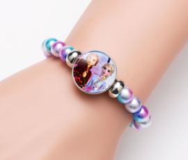 Frozen 2 Elsa & Anna armband met kralen