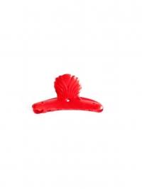 Flamenco hair flower red
