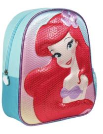 Zeemeermin rugzak Ariel schooltas meisje 3D