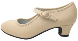 Spaanse schoenen beige