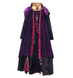 Frozen 2 Anna jurk met cape Deluxe + GRATIS ketting